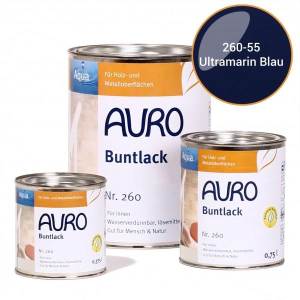 Buntlack, glänzend, Nr. 250 Ultramarin-Blau, Innen- und Außenbereich