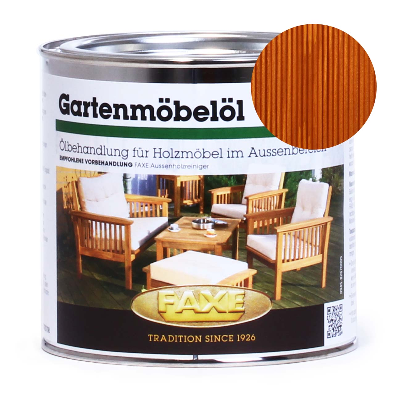 faxe gartenm bel l farbton teak 0 75 liter. Black Bedroom Furniture Sets. Home Design Ideas