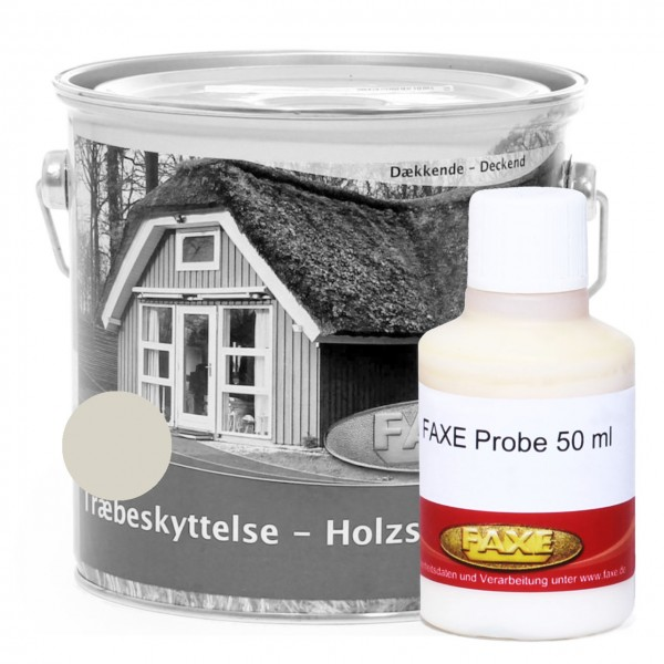 Holzschutzfarbe Altweiss - 50 ml Probe