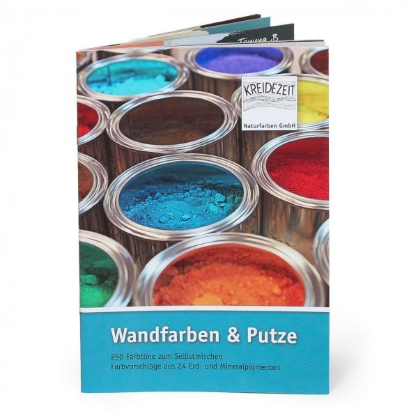 Broschüre Wandfarben und Putze