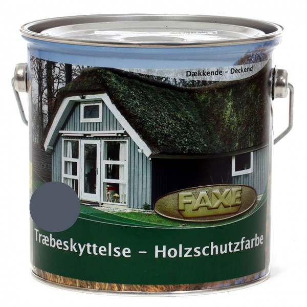 Holzschutzfarbe Dänischblau 2,5 l