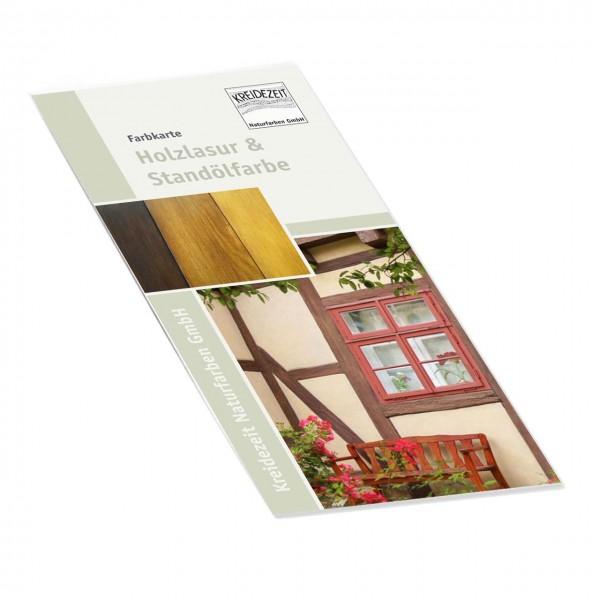 Flyer Farbkarte Holzlasur & Standölfarbe
