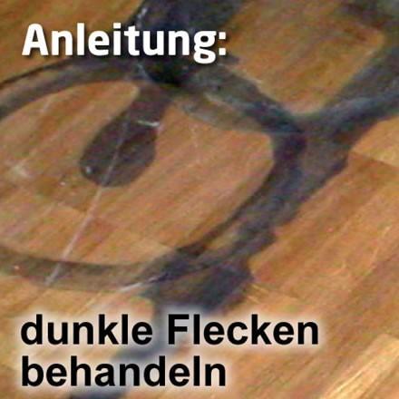 Dunkle Flecken