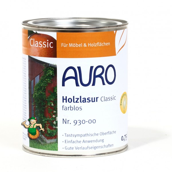 Holzlasur Classic Nr. 930 Farblos