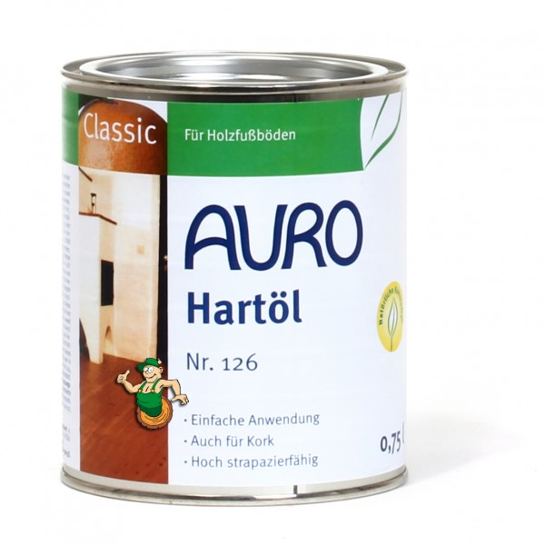 Hartöl weiß pigmentiert Nr. 126-90