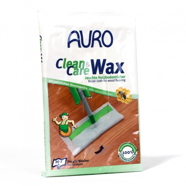 Clean & Care Wax - Feuchte Holzbodentücher Nr. 680