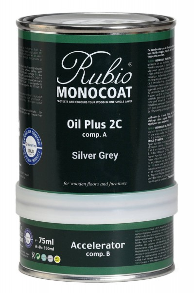 Oil Plus 2C Silver Grey (A+B)