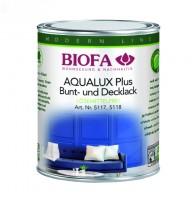 AQUALUX Plus Decklack innen, weiß, seidenglänzend, lösemittelfrei 5117 0,375 Liter