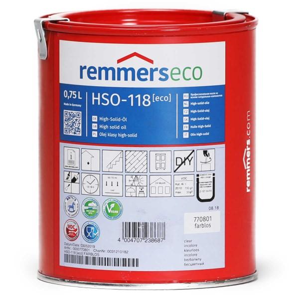 High-Solid-Öl eco 118 farblos