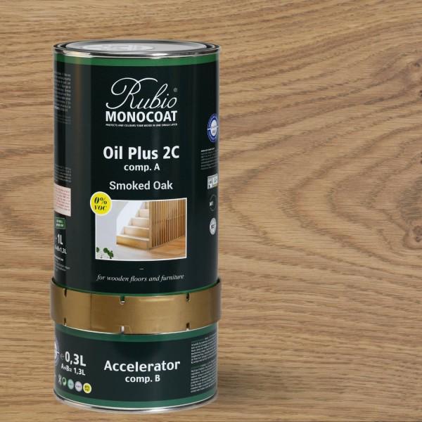 Oil Plus 2C Smoked Oak (A+B)