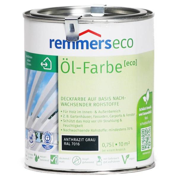Öl-Farbe eco anthrazitgrau (RAL 7016)