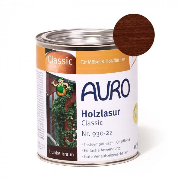 Holzlasur, Classic, Nr. 930-22 Dunkelbraun