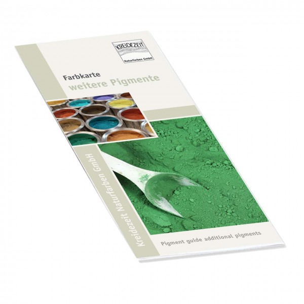 Flyer Farbkarte weitere Pigmente