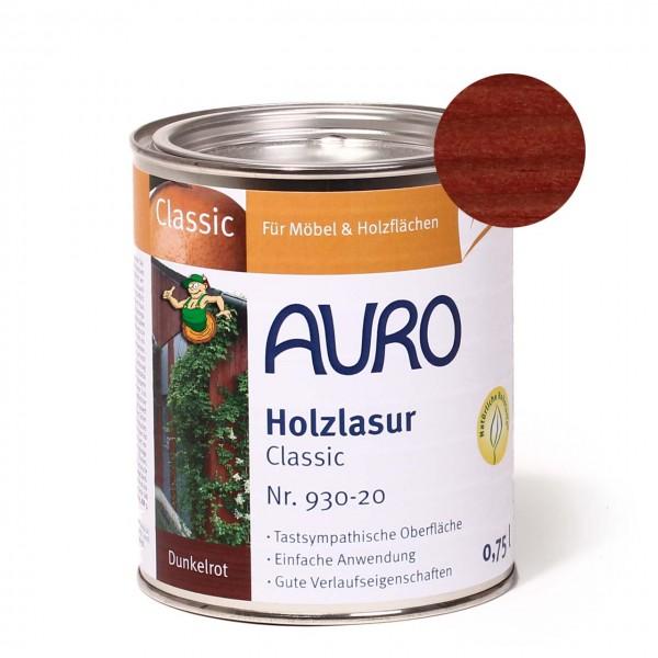 Holzlasur, Classic, Nr. 930-20 Dunkelrot