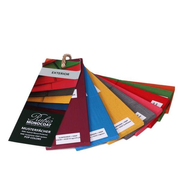 Musterfächer Exterior Pop Colors