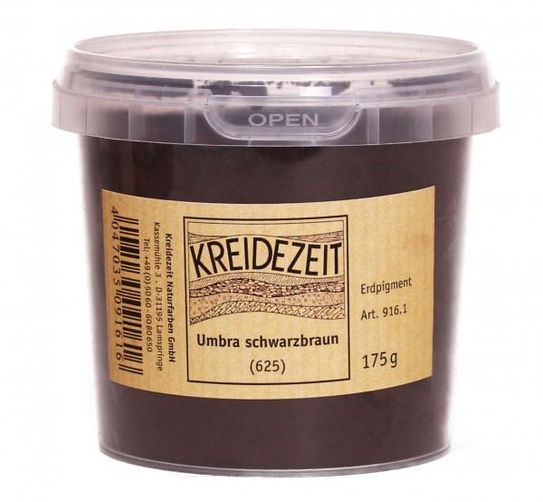 Umbra schwarzbraun (625) Pigment