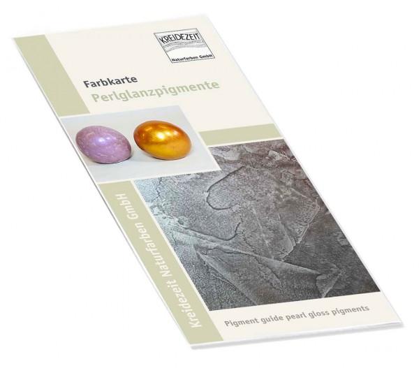 Flyer Farbkarte Perlglanzpigmente