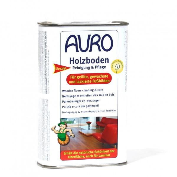 auro 661 holzboden reinigung pflege f r ge lte gewachste und lackierte oberfl chen. Black Bedroom Furniture Sets. Home Design Ideas