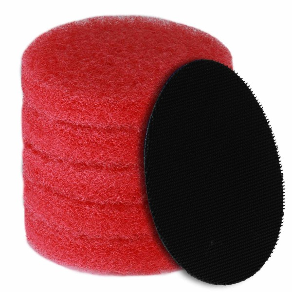 bopro Padset rot mit Klettadapter