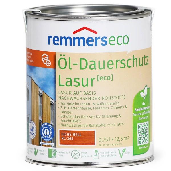 Öl-Dauerschutz-Lasur eco eiche hell (RC-365)