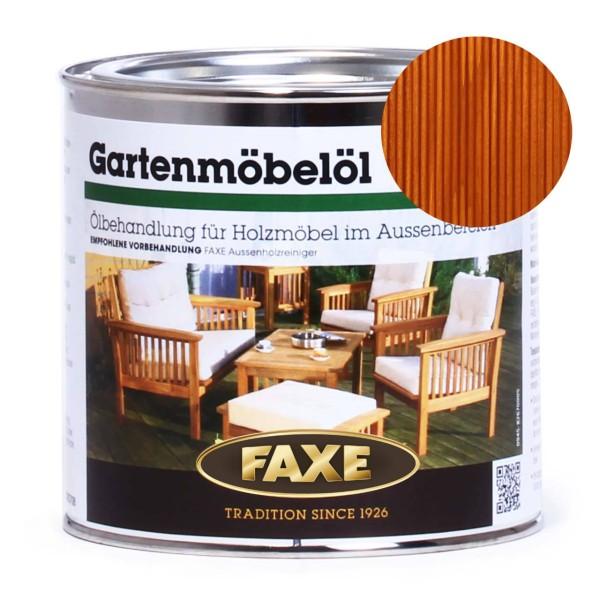 Gartenmöbelöl Farbton Teak 0,75 Liter