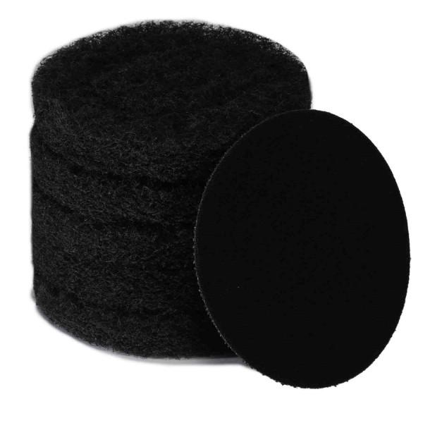 bopro Padset schwarz mit Klettadapter