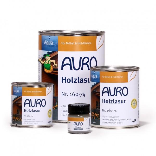 Holzlasur, Aqua, Nr. 160-74 Grau