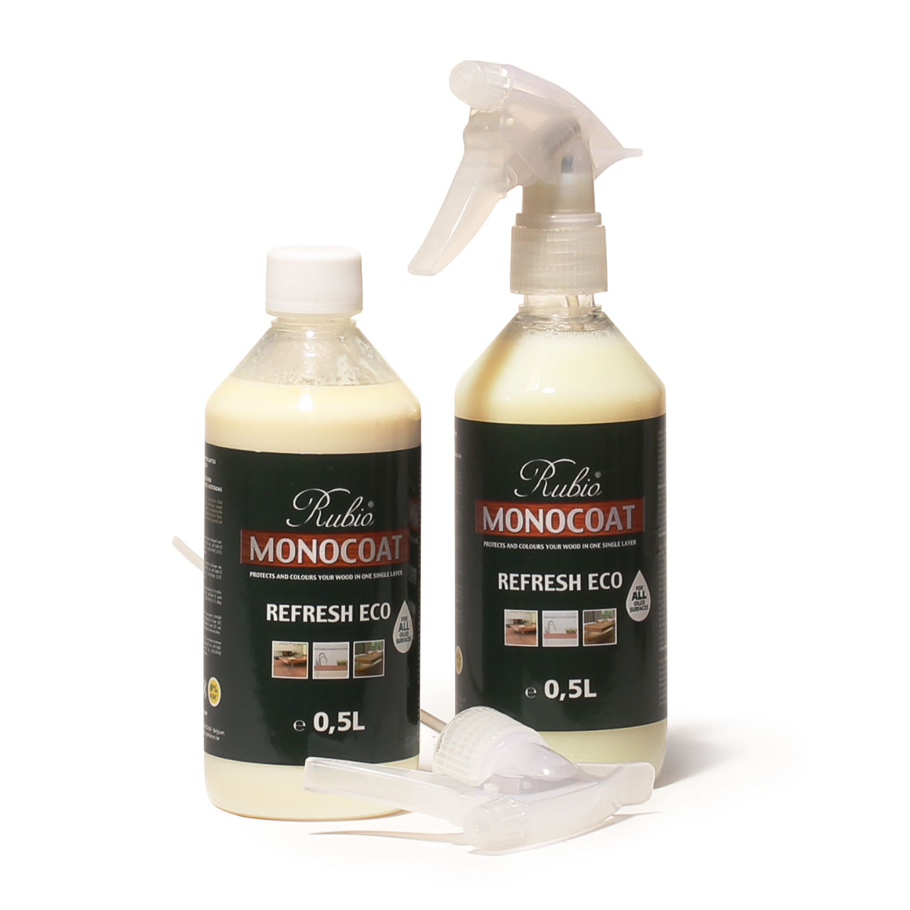 refresh eco spray 500 ml pflege holz im innenbereich reinigen und pflegen rubio monocoat. Black Bedroom Furniture Sets. Home Design Ideas