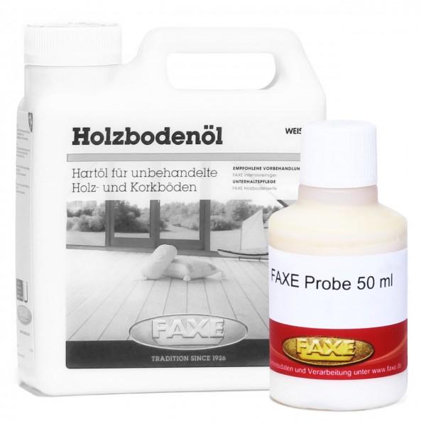 Holzbodenöl weiß 50 ml Probe