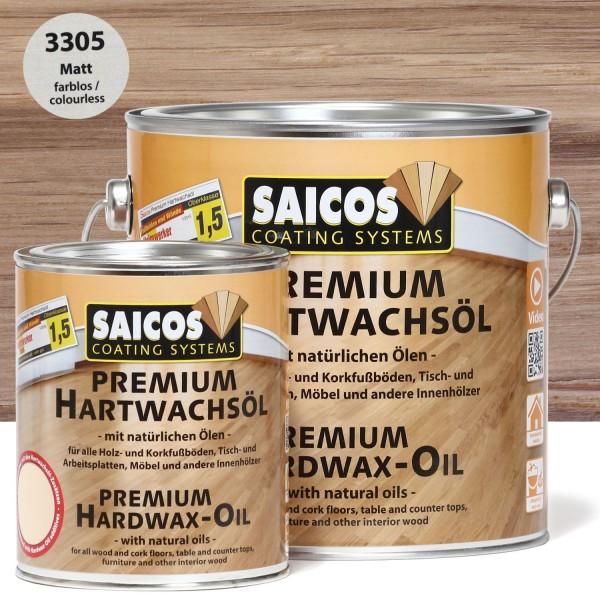 Premium Hartwachsöl 3305 Matt farblos
