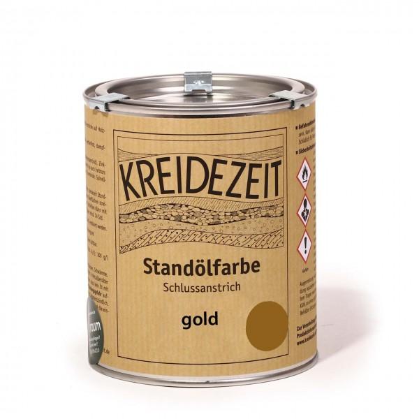 Standölfarbe vollfett gold