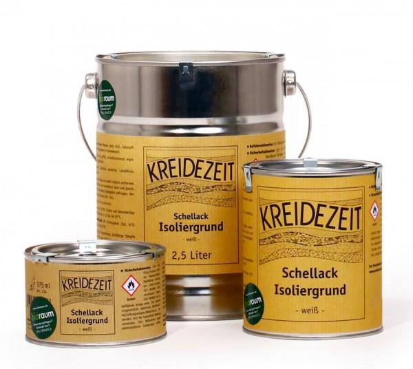 Schellack-Isoliergrund - weiß