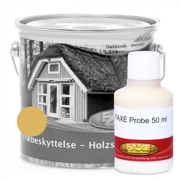 Holzschutzfarbe schwedengelb - 50 ml Probe