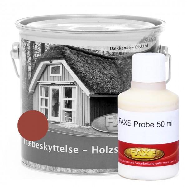 Holzschutzfarbe Schwedenrot - 50 ml Probe