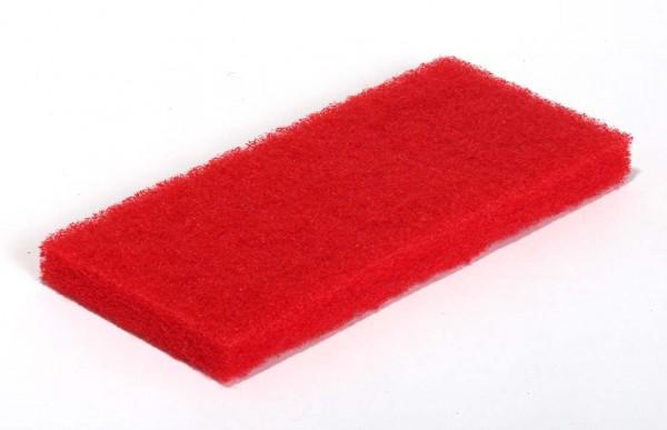 Rotes Super-Reinigungspad groß
