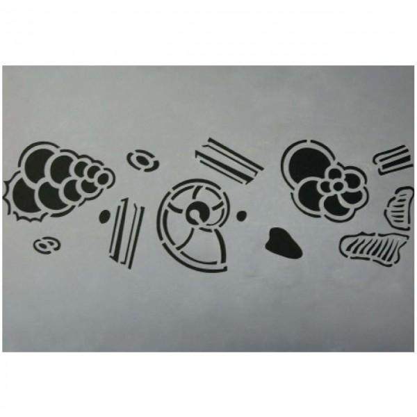 Schablone Mikrofossilien 2