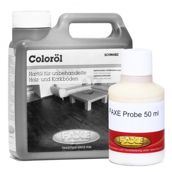 Coloröl schwarz 50 ml Probe