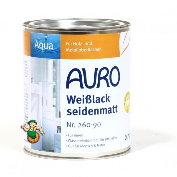 Buntlack, seidenmatt Nr. 260-90 Weißlack, Aqua