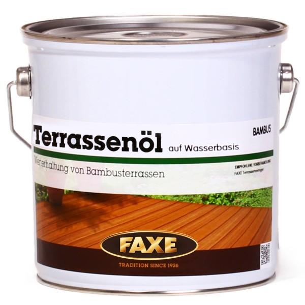 Terrassenöl auf Wasserbasis Bambus 2,5 Liter
