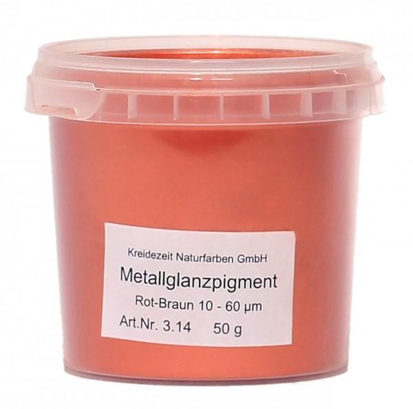 Metallglanzpigment Rot-Braun 10-60µm
