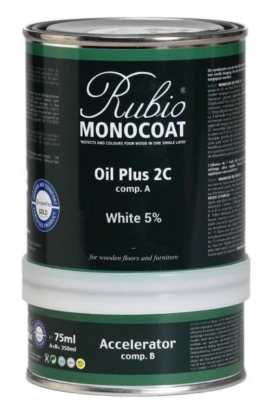 Oil Plus 2C White 5% (A+B)