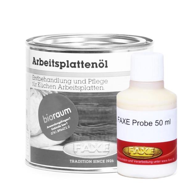 Arbeitsplattenöl schwarz 50 ml Probe