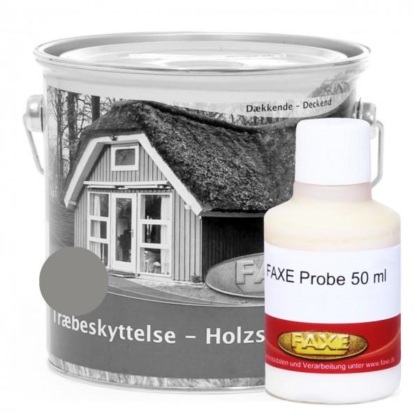 Holzschutzfarbe Grau - 50 ml Probe