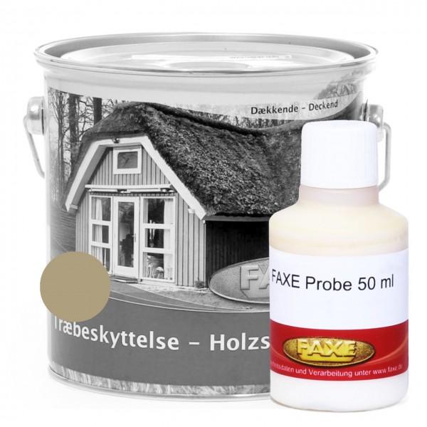 Holzschutzfarbe Khaki - 50 ml Probe
