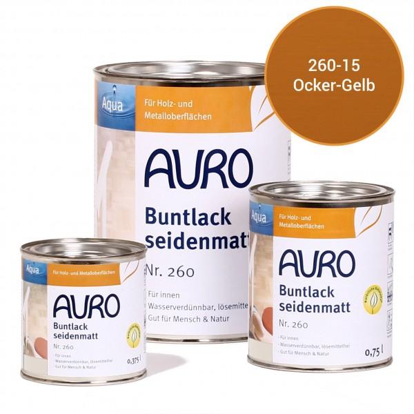 Buntlack, seidenmatt Nr. 260 Ocker-Gelb